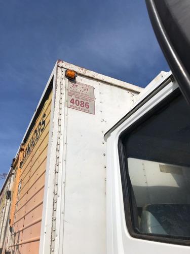 furgón térmico con equipo de frío abasto