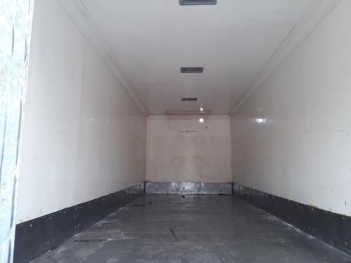 furgon termico de 100mm  piso de acero inox   7.30x240 int