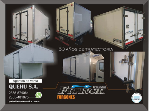 furgones f.r.p. y semi super congelados (carne, fruta, etc.)
