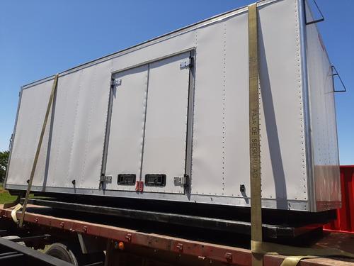 furgones nuevos paqueteros 6 mts de largo hay 2.,sin uso okm