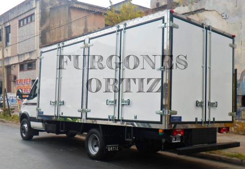furgones térmicos, paqueteros, carniceros, sider.