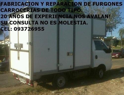 furgones,volquetas, cajas , etc. fabricacion y reparacion.