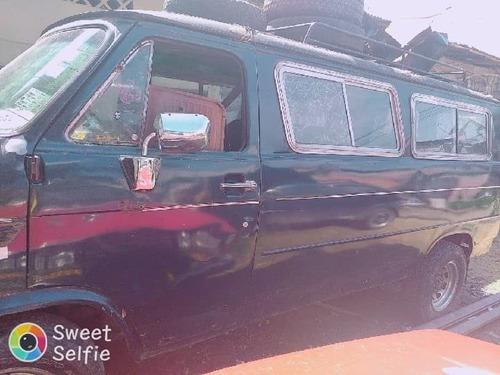 furgoneta azul 3 puertas motor original