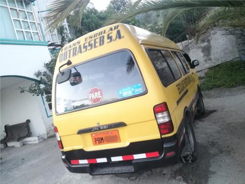 furgoneta escolar se acepta vehiculo como forma de pago