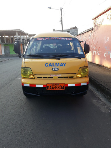 furgoneta kia preggio 2011 full equipo