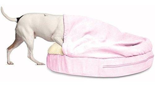 furhaven - cama ortopédica redonda para perros y gatos (disp