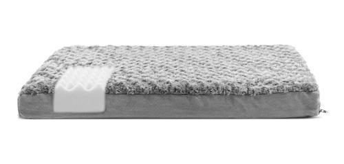 furhaven ultra plush deluxe colchón ortopédico para cama.