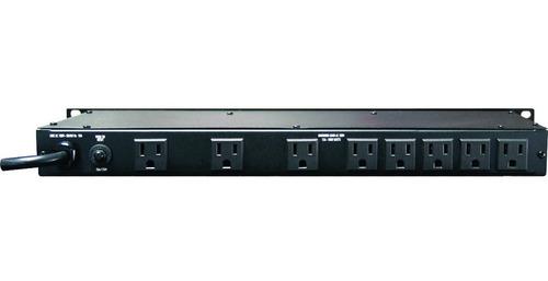 furman m-8x2 acondicionador de corriente multitoma