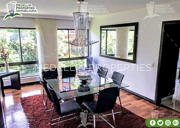furnished apartment for rental medellín cód: 4286