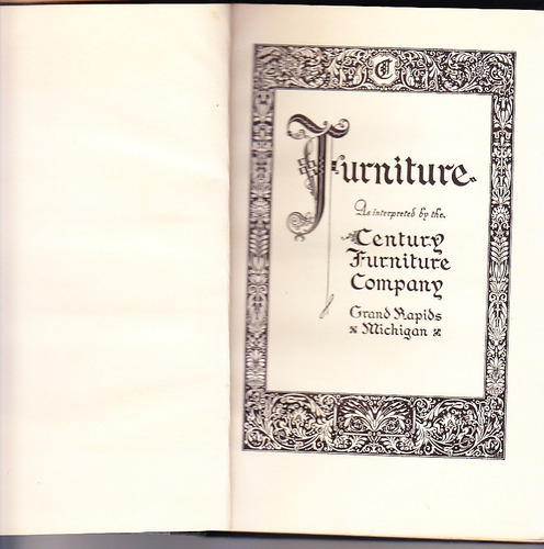 furniture century furniture company 1939 muebles antiguos