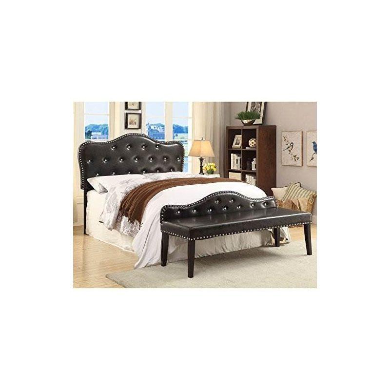 Furniture Of America Little Missy - Juego De Cabecera Y Banc ...