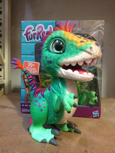 furreal dinosaurio rex gloton de exhibicion sin accesorios