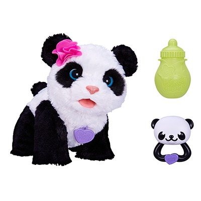 furreal friends pom pom bebé panda electrónico hasbro 2016
