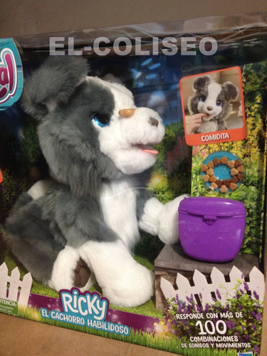 furreal ricky el cachorro habilidoso con trucos y sonidos