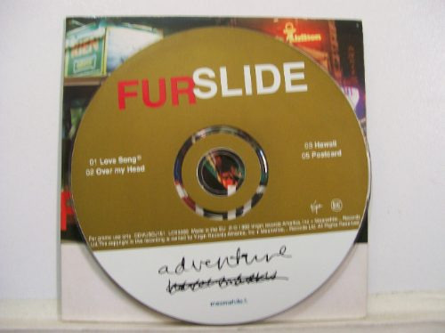 furslide, adventure, 1998, cd single orig importado promo