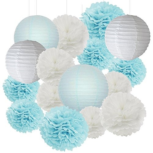 furuix 18 decoraciones de la fiesta de bienvenida al bebé d