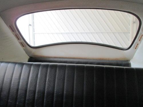 fusca 1300 original com manual da fabrica e com placas preta