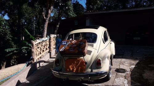 fusca 1500, teto solar rag top, gasolina, pneus novos.