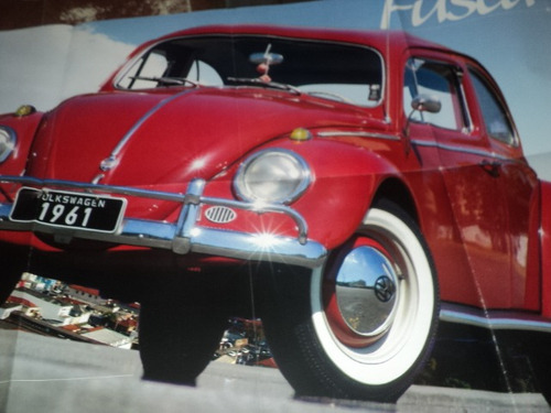 fusca 1961 poster 80x60cm