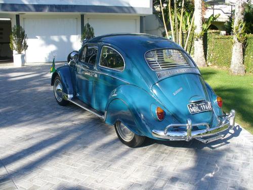 fusca 1966, 1200 cc, 6 volts, placa preta do ano