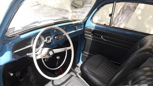fusca 1968 azul original carro para colecionador