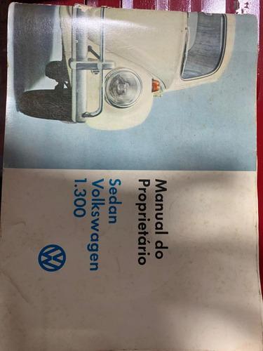 fusca 1968 com manual e copia chave