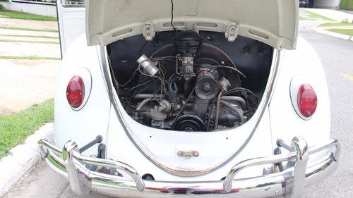 fusca 63 - motor 1200 - placa preta