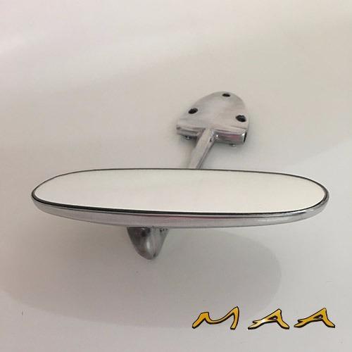 fusca espelho interno cromado retrovisor replica perfeita