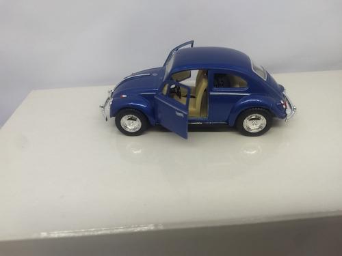 fusca fusquinha miniatura colecionavel kit com 6 pçs p/e.