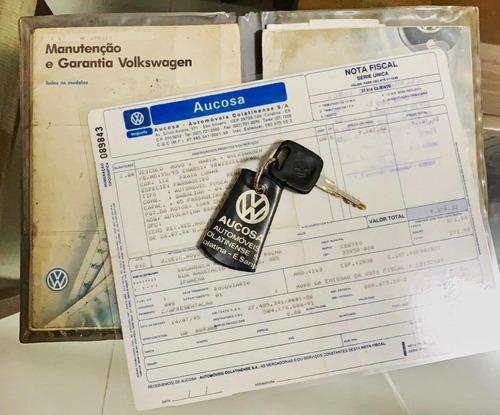 fusca itamar 1995 - nota fiscal e chave reserva - coleção