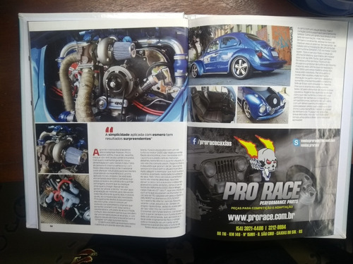 fusca  itamar  1995  turbo  capa de revista
