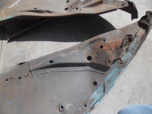fusca par de bacalhau traseiro com suportes dos amortecedors