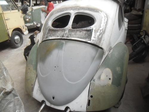 fuscas antigos - transformação para split ou oval 1950 1955