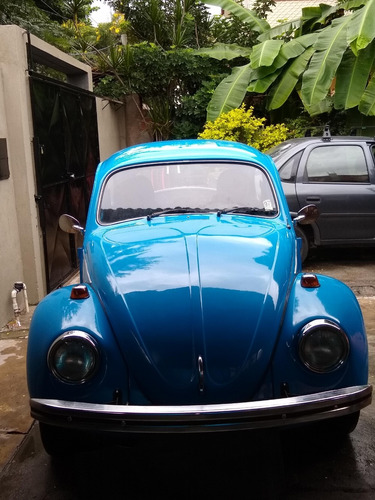 fuscão 74 azul motor 1500