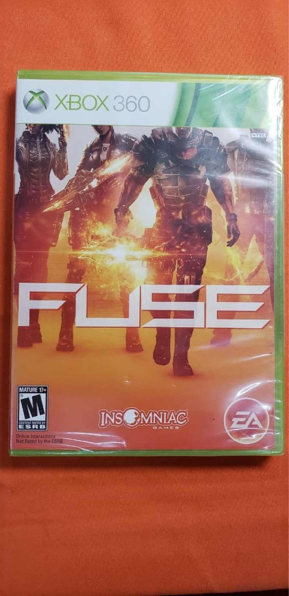 Fuse Juego Xbox 360 Fisico Sellado on online xbox 360, jugar xbox 360, home xbox 360, games xbox 360, spider-man 1 xbox 360, spiderman friend or foe xbox 360,