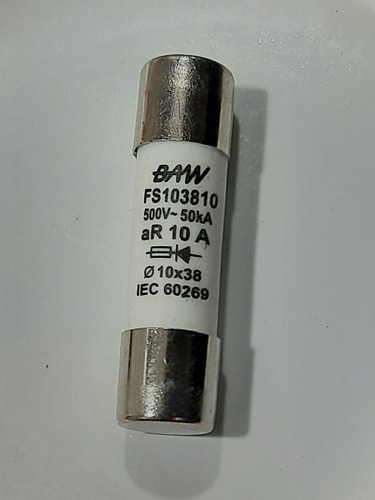 fusible 10a curva ar ultrarrápidos -semiconductores fs103810