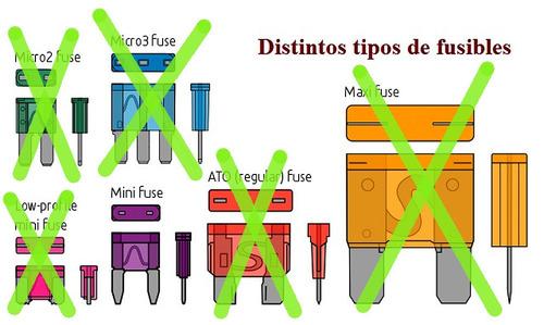 fusible moto mini 16x11x4mm 4a x10u e2523