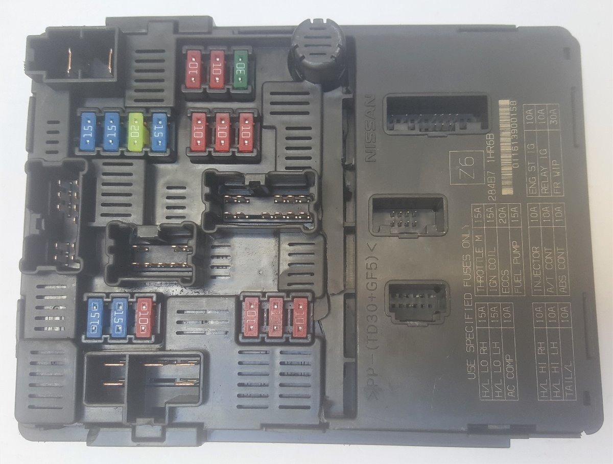 Fusiblera Inteligente Nissan Ipdm 284b7-1hr6b Z6 Versa Note - $ 7 690,00