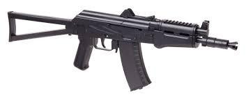 fusil a k comrade crosman co2 balines de acero.