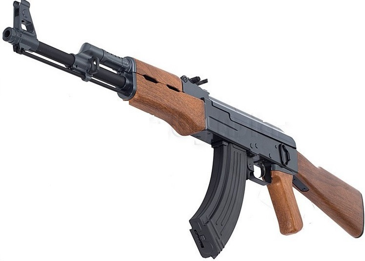 Fusil Rifle Airsoft Ak 47 Dna 6 Mm Pvc Automatico Pistolas - $ 320.000 en Mercado Libre
