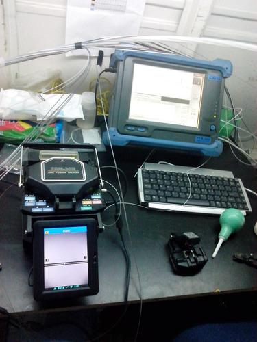 fusion, conectorizacion, certificación, fibra optica