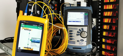 fusion, conectorizacion, certificación, fibra optica redes