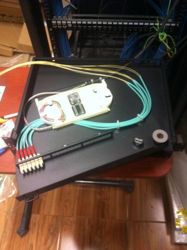 fusionado de fibra óptica, certif. ptos de f. o, voz y datos