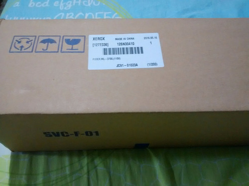 fusor impresora xerox 3320 y 3315/3325