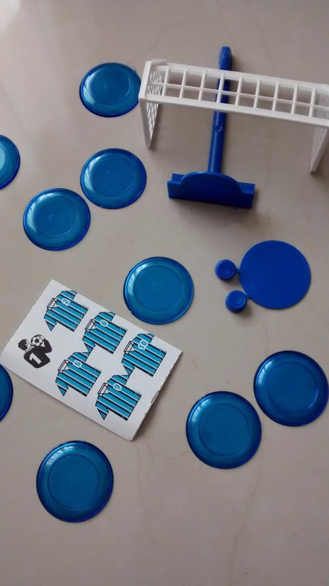 Futebol De Botão Fut Botão Kit Com 2 Times Sortidos - R  7 ac36ef6f35c65
