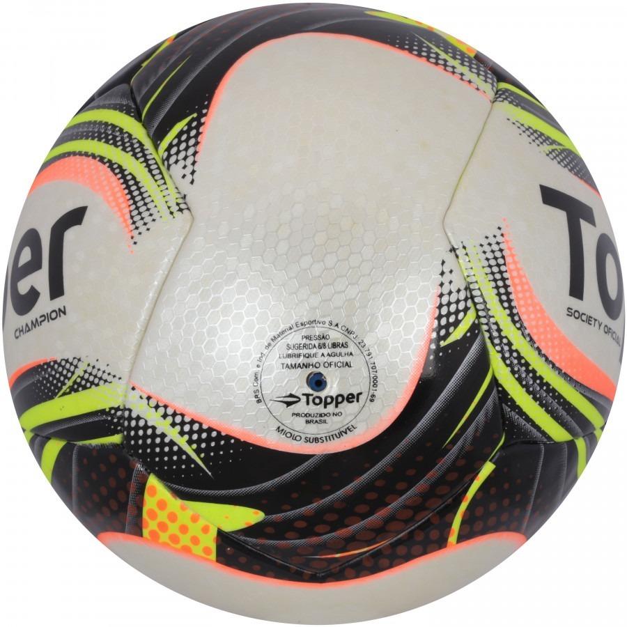 Carregando zoom... bola fut society topper champion ii - costurada ... 4cff6734f860f