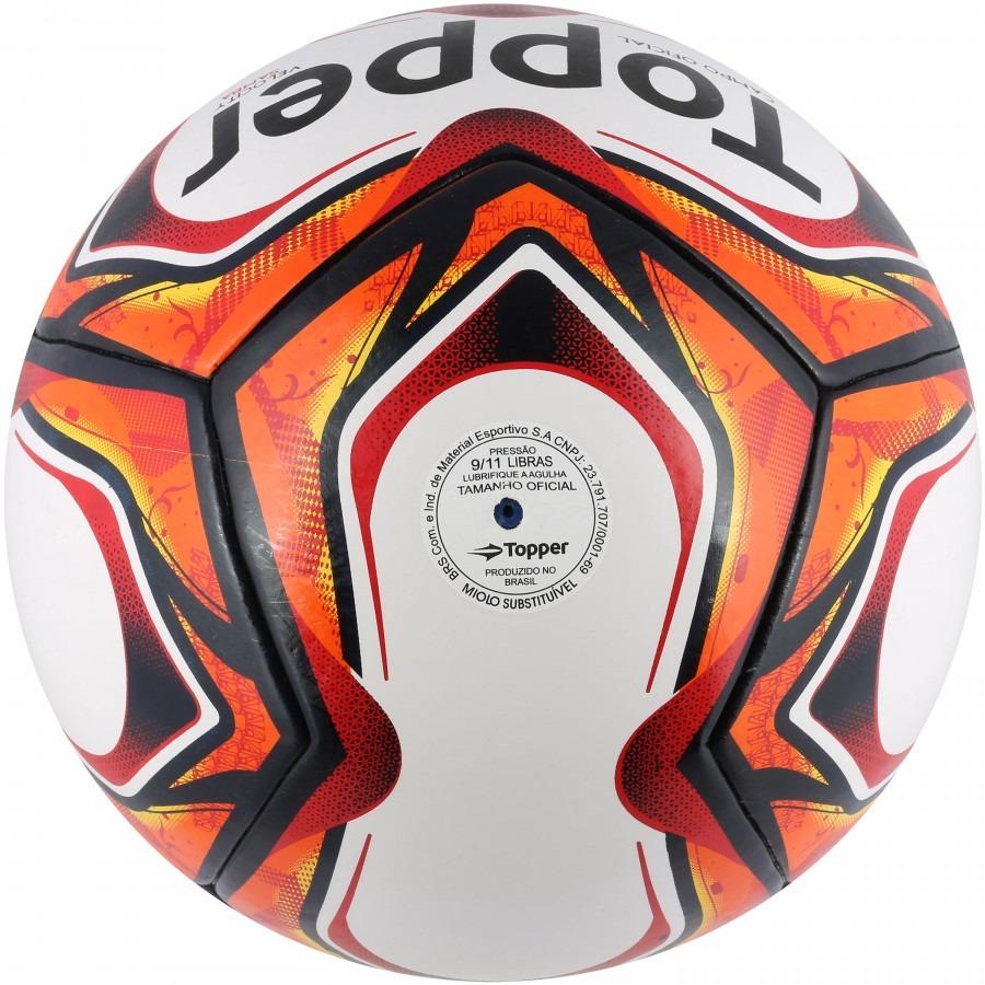 fc639da295 Bola Fut Society Topper Samba V -velocity - Costurada À Mão - R  121 ...