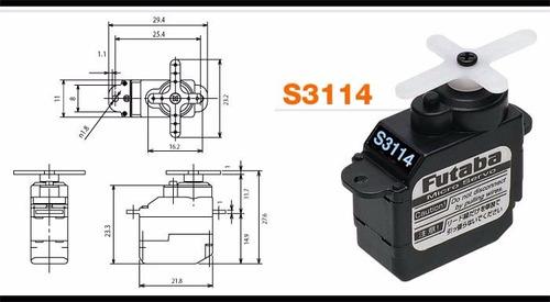futaba s3114 micro high-torque servo