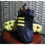 Antiguos Zapatos De Fútbol De Cuero Adidas Star Peñarol 1982