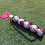 Bolso Tipo Tubo Para 5 Balones De Futbol